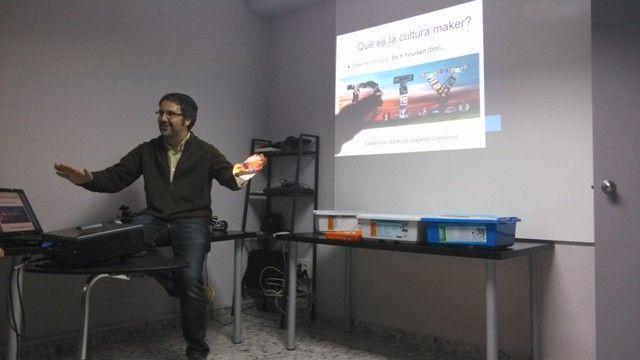 Antonio Fernández presenta el evento