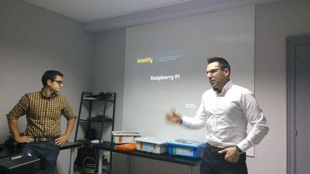 Intelify mostrando sus proyectos