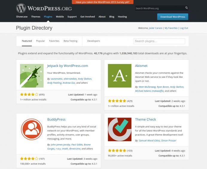 Curso WordPress: instalar plugins WordPress