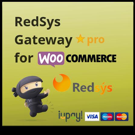 RedSys y Bizum Gateway para WooCommerce