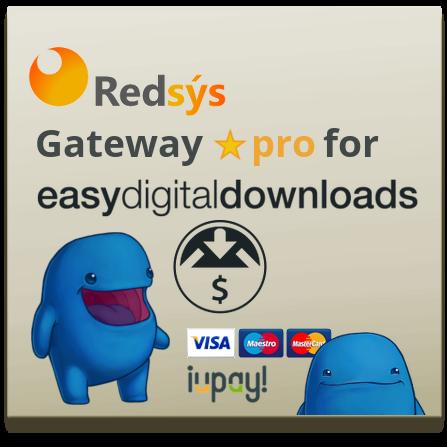 Pasarela RedSys para EDD