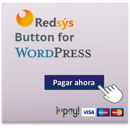 Botón RedSys para WordPress