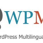 Logo WPML WordPress en varios idiomas