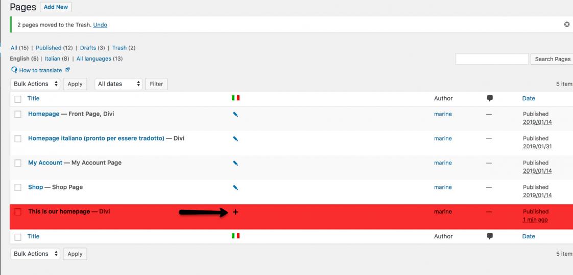Pulsa la tecla más para traducir con Advaced Translate Editor