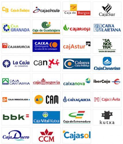 Cajas y bancos asociados a Ceca antes