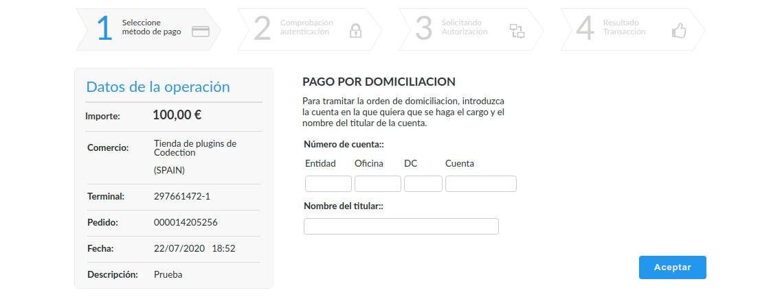 Recibir pagos con domiciliación bancaria con WooCommerce
