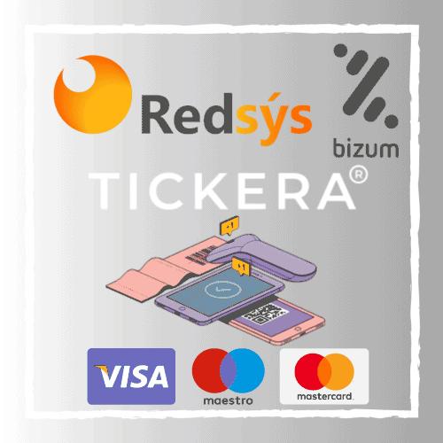 RedSys & Bizum Gateway for Tickera